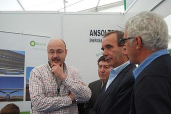 Visita del Portavoz del partido socialista  en el congreso de los Diputados José Antonio Alonso