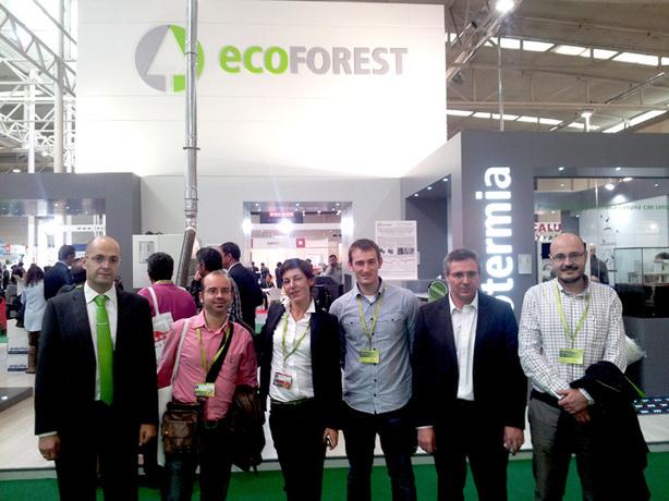 Stand ECOFOREST en Expobionergía 2012