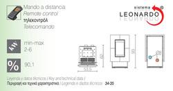 Características estufa de pellet Forma 6kW