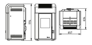 Dimensiones Hidrocopper 24 kW