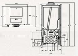 Dimensiones Cantina  29 kW