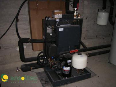 Instalaci n geot rmica con captaci n horizontal para acs y - Suelo radiante con bomba de calor ...